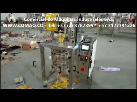 Empacadora Automática para Polvos en SACHET, Tels: (2)3787399 - 3177391226 / WWW.COMAQ.CO