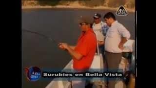 preview picture of video 'Surubi en Bella vista con los amigos de Vamos de Pesca.'