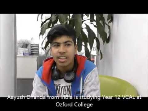 Student testimonial Year 12 student Aayush