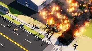 I Solved City Disasters by Using Human Sacrifices - Incident Commander