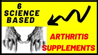 6 Proven supplements for osteoarthritis