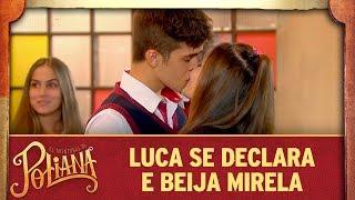 Luca Se Declara E Beija Mirela   As Aventuras De Poliana