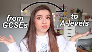 HOW TO PREPARE FOR COLLEGE | Transition From GCSEs To A-levels + Whats Different??