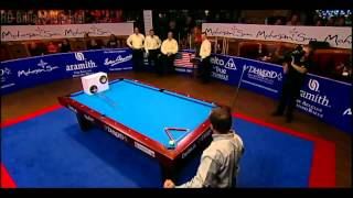 [HD] Billiard World Cup of Trick Shot 2012 - USA vs Europe Final Part 4