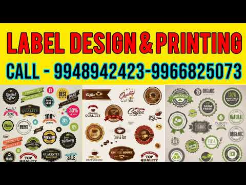 Custom Paper Stickers / PVC Sticker / Label Printing