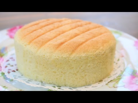 Video How To Make Super Soft Sponge Cake | Butter Sponge Cake Recipe | 像棉花般柔软的蛋糕---棉花蛋糕  | 燙麵法