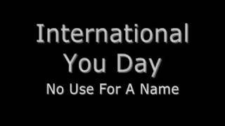 """Video thumbnail of """"International You Day"""""""
