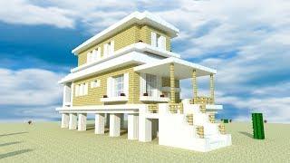 Kristy Sherman Modern House Minecraft Beach