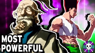Top Ten MOST POWERFUL Characters | Hunter X Hunter