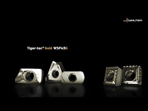WALTER FRÄSSORTE WSP45G - Tiger·tec® Gold erweitert die Grenzen.