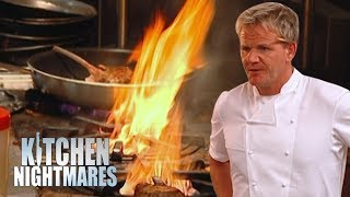Gordon Helps a Danish Restaurant That DOESN'T SERVE DANISH FOOD! | Kitchen Nightmares Supercut