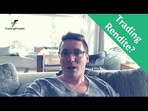 Trading Rendite: Was ist realistisch? Meine Erfahrungen ⬅