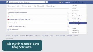 Chỉ một thao tác xóa toàn bộ nhóm trong facebook - Facebook groups leave all at one