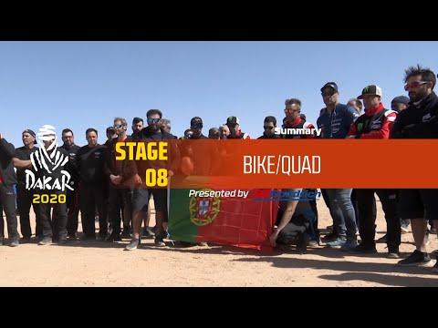 【ダカールラリーハイライト動画】ステージ8 バイク部門のハイライト