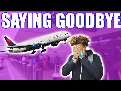 SAYING GOODBYE....HE IS LEAVING US...