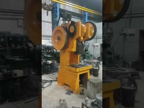 100 Ton C Type Power Press Machine