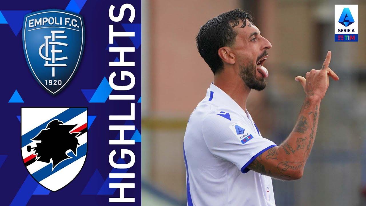 Empoli 0-3 Sampdoria | Caputo mette a segno una doppietta! | Serie A TIM 2021/22