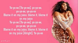 Lizzo   Juice (Lyrics)
