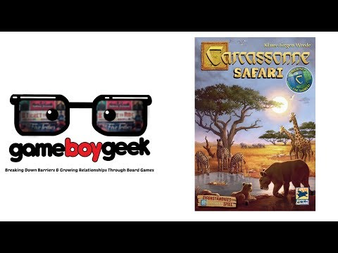 Carcassonne Safari Review with the Game Boy Geek