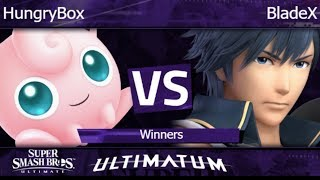 Ultimatum  - Liquid | HungryBox (Jigglypuff) vs BladeX (Chrom) Winners - SSBU