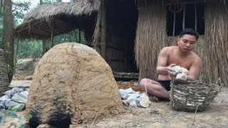 Primitive Technology:Stove and Lime Kiln-Primitive life-wilderness