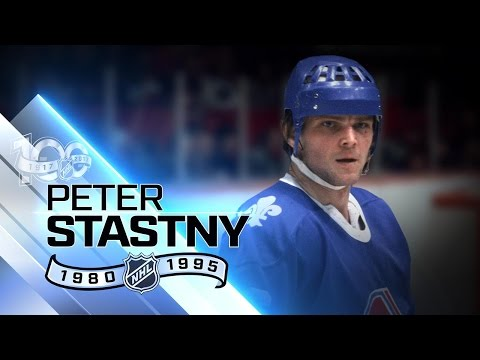 Peter Stastny became first rookie to have 100 points