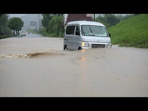 Ιαπωνία: Φονικές καταιγίδες και πλημμύρες
