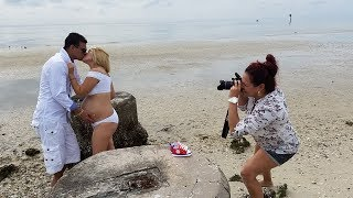 Behind the scenes . Maternity photoshoot Tere & Leo!!!