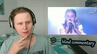 blind commentary Daneliya Tuleshova