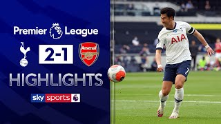 SUBSCRIBE ► http://bit.ly/SSFootballSub PREMIER LEAGUE HIGHLIGHTS ► http://bit.ly/SkySportsPLHighlights Highlights from the Premier League as Jose Mourinho tasted victory in his first north London derby as Tottenham came from behind to beat Arsenal 2-1.  Watch Premier League LIVE on Sky Sports here ► http://bit.ly/WatchSkyPL ►TWITTER: https://twitter.com/skysportsfootball ►FACEBOOK: http://www.facebook.com/skysports ►WEBSITE: http://www.skysports.com/football  MORE FROM SKY SPORTS ON YOUTUBE: ►SKY SPORTS CRICKET: https://bit.ly/SubscribeSkyCricket ►SKY SPORTS BOXING: http://bit.ly/SSBoxingSub ►SOCCER AM: http://bit.ly/SoccerAMSub ►SKY SPORTS F1: http://bit.ly/SubscribeSkyF1