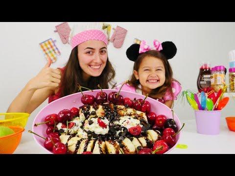 Mini Mutfakta Yılbaşı tatlısı - Fondü yapalım!