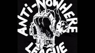 anti nowhere league-skull and bones