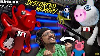 ROBLOX PIGGY Distorted Memory! George's Robot Dino Escape! (FGTeeV Bonus B4 Chapter 12 #64)