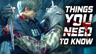 Resident Evil 2: 10 Things You NEED To Know