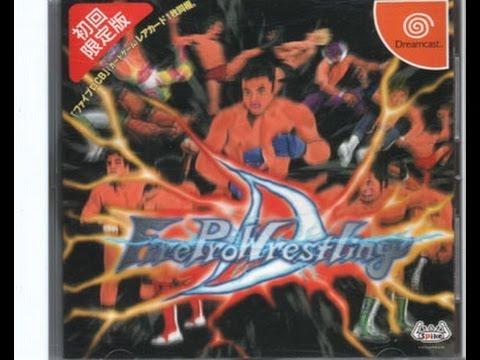 Firepro Wrestling D Dreamcast