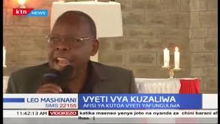 Wakazi wa Likuyani wapata afueni, afisi ya kutoa vyetu vya kuzaliwa ikifunguliwa