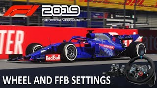 F1 2018 G29 Settings Ps4