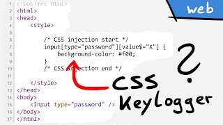 CSS Keylogger - old is new again