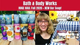 Bath & Body Works HUGE HAUL Fall 2020 + NEW Bar Soap!