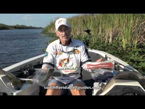 South Florida Bass Fishing Guides – Lures For MONSTER Bass