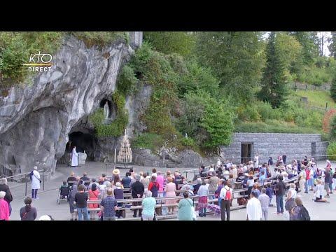 Chapelet du 1er septembre 2020 à Lourdes