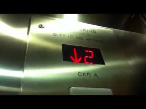Dover/?? Traction Elevators At The Courtyard Marriott LaGuardia Airport In Flushing NYC Mp3