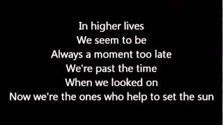 Dream Theater-The Ones Who Help To Set The Sun (Lyrics)