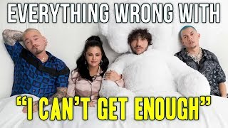Everything Wrong With benny blanco, Tainy, Selena Gomez, J Balvin -