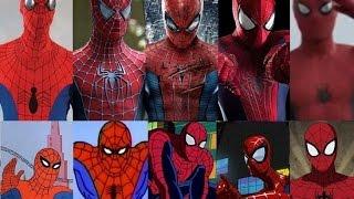 Spider-Man - Evolution in cinema & TV