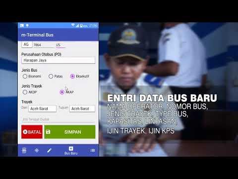 Aplikasi Android Pendataan Bus menggunakan Cloud Computing dan QR Code .