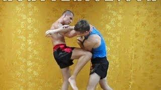 Тайский бокс на улице - Приемы от прямого удара