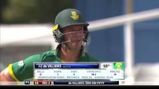 South Africa Vs Sri Lanka - 4th ODI - SA Innings Highlights