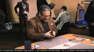 Pro Tour Oath of the Gatewatch Round 14 (Modern): Frank Lepore vs. Luis Scott-Vargas