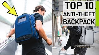 Top 10 Coolest Anti-Theft Smart Backpacks
